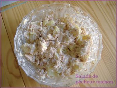 Salade de thon et de pommes de terre