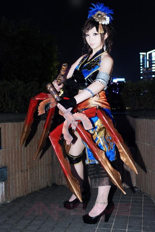 Cosplay Vương Dị trong Dynasty Warriors 7: Moshoden - Ảnh 2