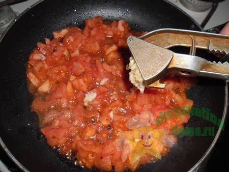 Томатный соус для стейков из говядины