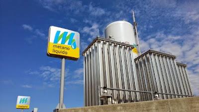 LNG Włochy. Pierwsza stacja tankowania skroplonego metanu - Piacenza