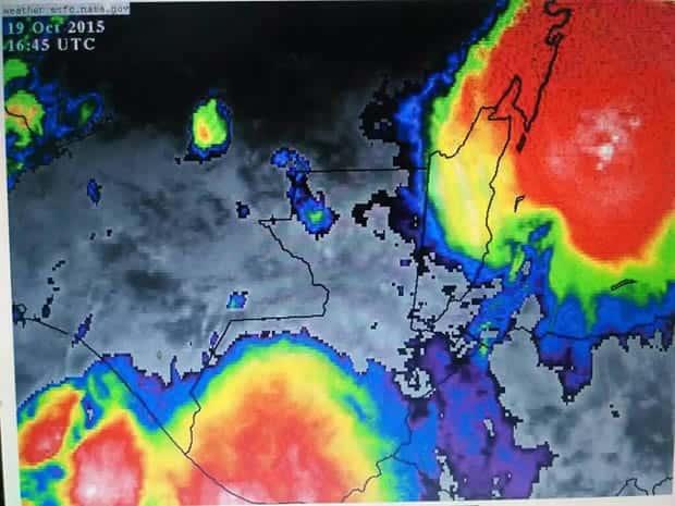 Declaran alerta anaranjada por sistemas de baja presión que afectan el país