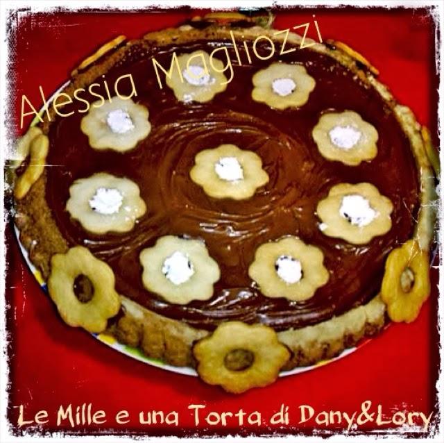 torta biscottata alla nutella