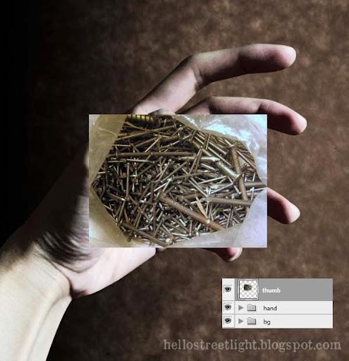 Paste nails