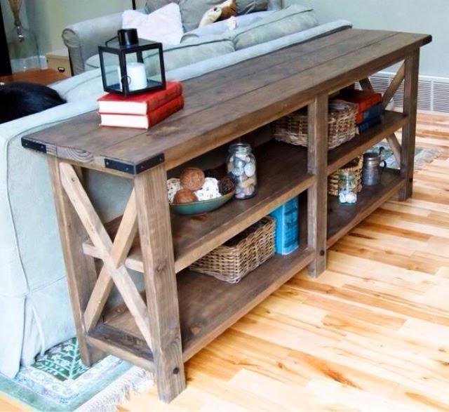 Ecleectica Interiorismo: La mesa tras el sofa