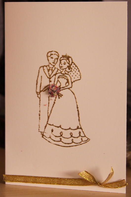 Plain And Simple Wedding Cards