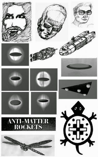 Sketches Anti Matter Rockets Ufo Propulsion