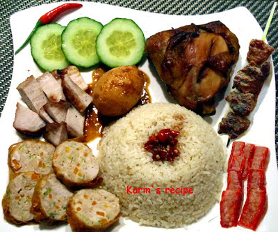 Nasi Campur Alla Cina Indonesian Chinese Style Of Mixed Rice