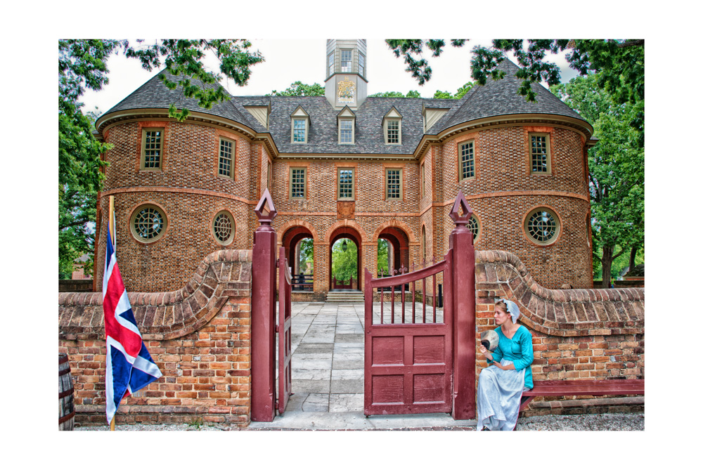 Colonial Williamsburg Capitol building, Historic landmarks, Virginia. Architecture, places to visit, travel photograpphy