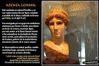 Cabeza de Atenea de Fidias. Cultura griega