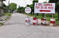 El Gobierno municipal afrontará  la reconstrucción de la carpeta de hormigón Uruguay entre del Carmen  y San Martín