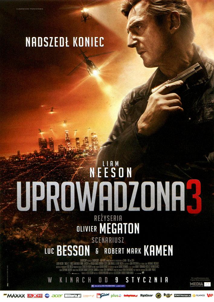 Ulotka filmu 'Uprowadzona 3 (przód)'