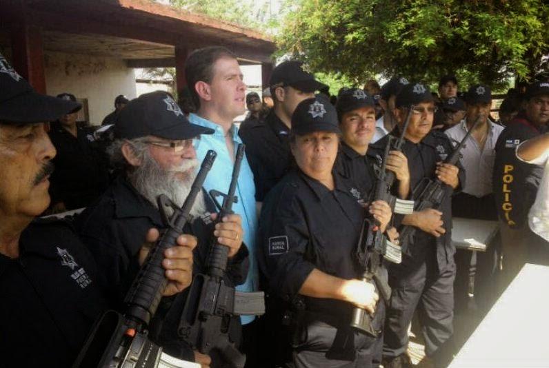 Policia rural michoacán