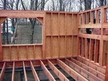строительство каркасного деревянного дома своими руками
