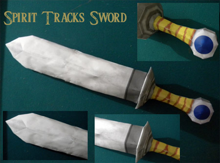 Recruit's Sword Papercraft