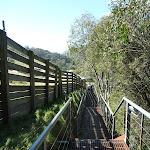 Walking down the Village trail footpath (276959)