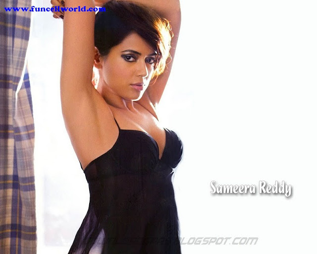 Sexy wallpaper of Sameera Reddy