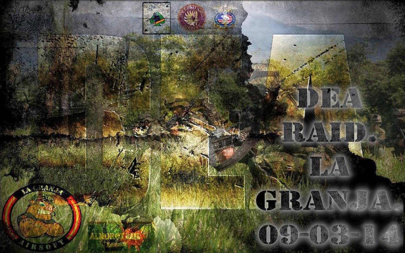 DEA RAID. PARTIDA ABIERTA. LA GRANJA. 9-03-14 DEA+raid+7