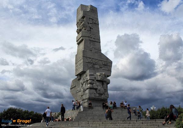 Gdańsk Westerplatte - pomnik