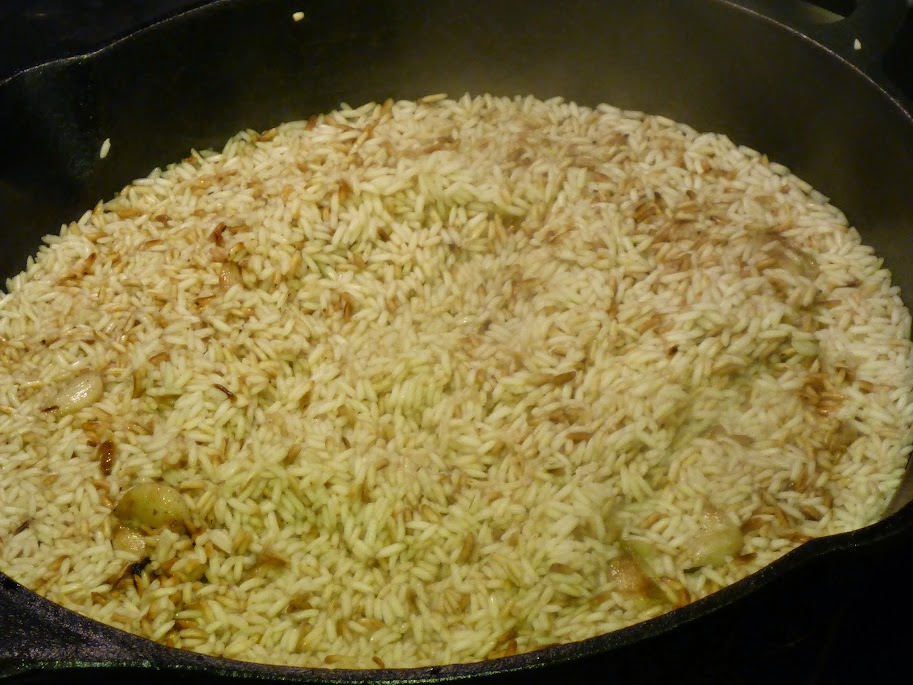How To Make A Simple Rice Pilaf (Or How To Keep Trying For 15+ Years)