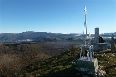 Gorbeia desde la cima de Alto del Corral / Estuñaga