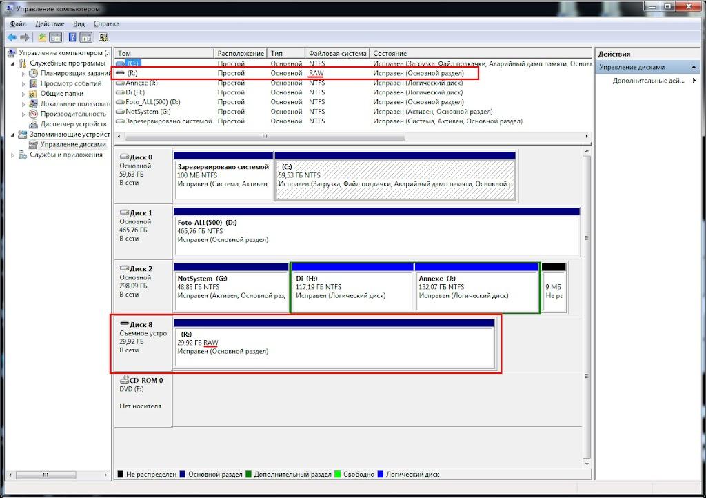 как восстановить файловую систему флешки - фото 10