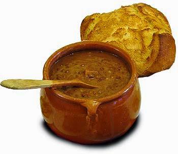 La olla, plato del Quijote