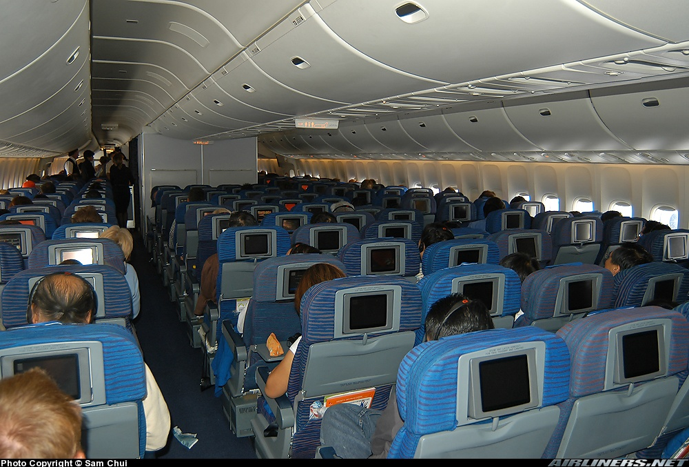 jet airlines boeing 747 interior