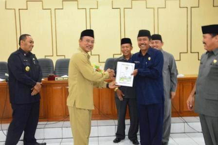 predikat Wajar Tanpa Pengecualian (WTP) dari BPK RI perwakilan Jawa Timur