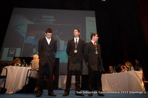 Finalistas al Mejor Sumiller España 2012