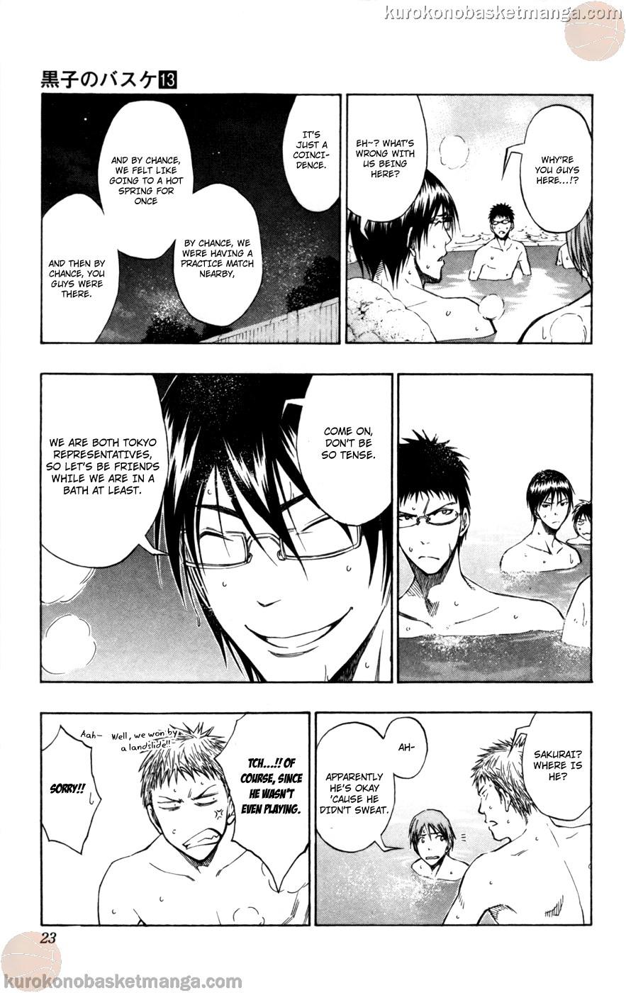 Kuroko no Basket Manga Chapter 109 - Image 21