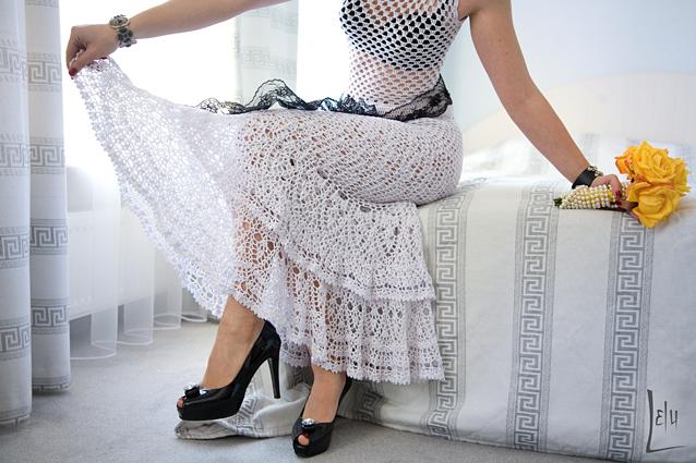 Picasaweb crochet falda - Imagui
