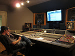 A couple of weeks later, on our break, I'm in the studio while Jordan works with Will Hoge