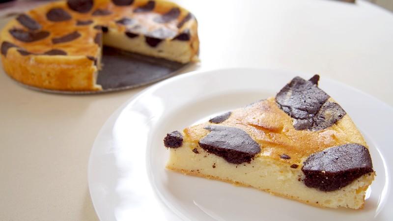 Tvarohový koláč II