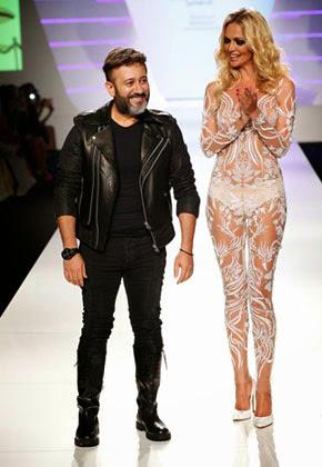 Эко-тренды на Неделе моды Ближнего Востока 2014, Сохад Окури и Виктория Лопырева