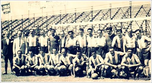 Argentina campeã do Sul-Americano de 1947 no Equador