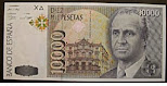 Vendo billetes de 10000 pesetas sin