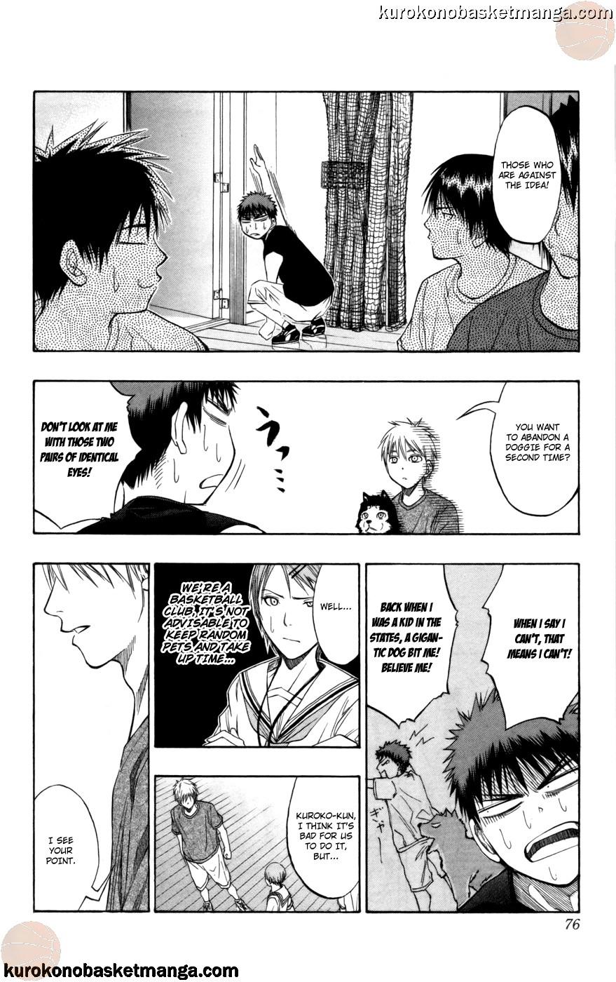 Kuroko no Basket Manga Chapter 74 - Image 10