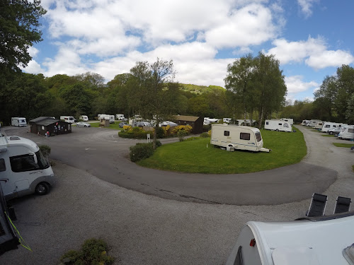 Hebden Bridge Caravan Club Site at Hebden Bridge Caravan Club Site