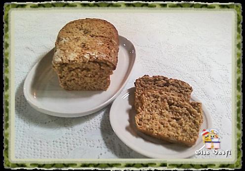 Pão integral com grãos de trigo germinados 1
