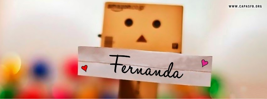 Capas para Facebook Fernanda