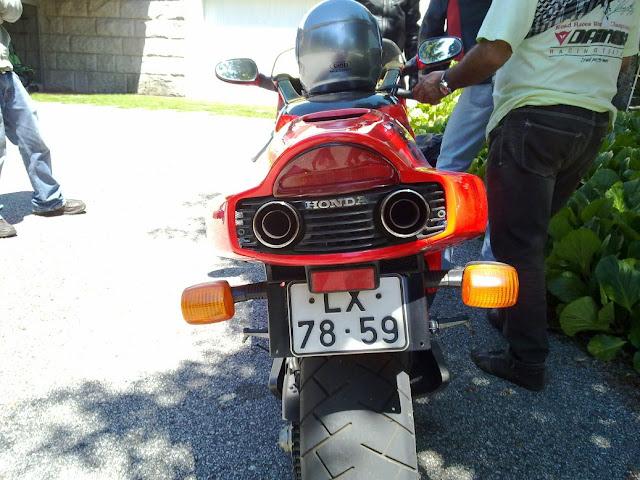 MISSÃO HONDA NR750 e mais, muito mais ... NR25