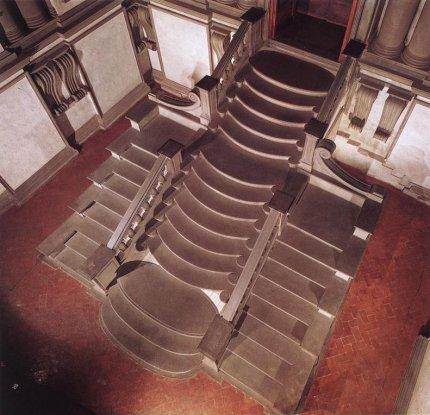 Multiples estrategias de arquitectura escaleras para bajar - Escaleras para bibliotecas ...