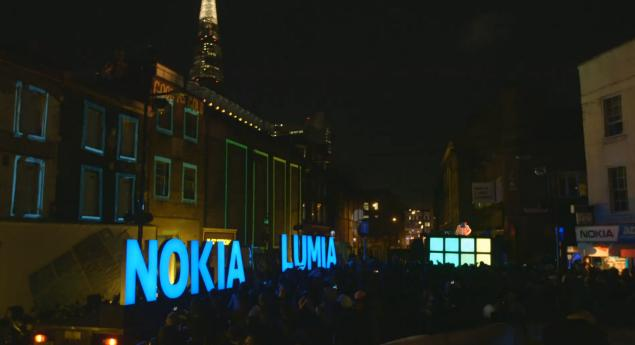 "Nokia & deadmau5 Light Up London Again ""This is Lumia"""