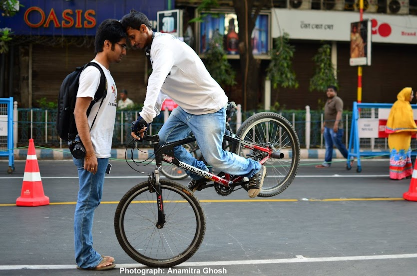 Wazid, happy streets kolkata