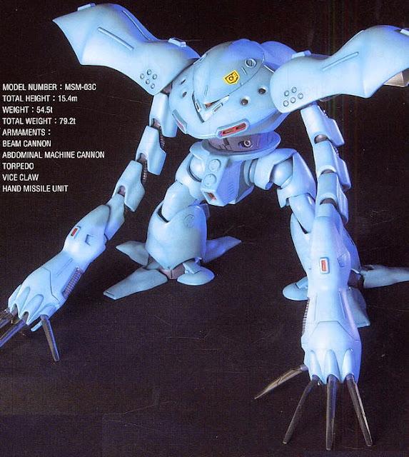 mô hình lắp ghép gundam MSM-03C Hy-Gogg HGUC tỷ lệ 1/144