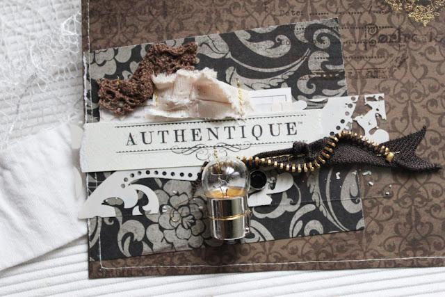 Шоколадный скрап-конверт. Детали
