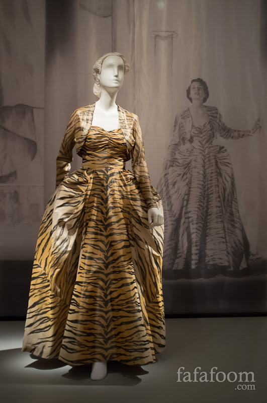 "Gilbert Adrian, ""The Tigress"" evening ensemble, 1949."