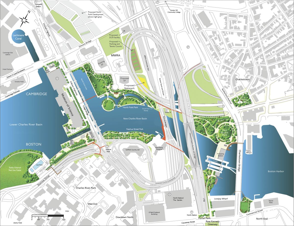 The Charles River Parklands A Connection In The New Basin
