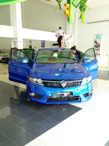Proton Suprima S In The Showroom