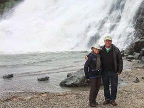 Bob and Trish Fritz in Alaska
